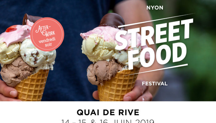 Street Food Festival in Nyon  14 – 16 June