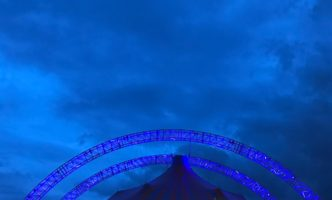 Tents attract the crowds in the rain – Saturday night at Paléo
