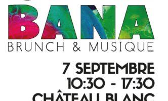 Gingibana – Music Festival in a Château near Nyon – Sat 7th September