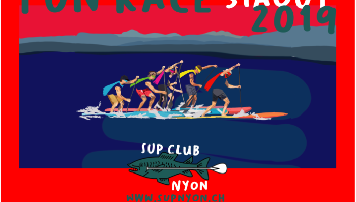 Stand-Up Paddle Race on Lake on Saturday 31st – Open to the public