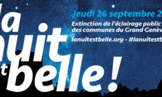 A Dark Sky Night in Nyon on the 26th September