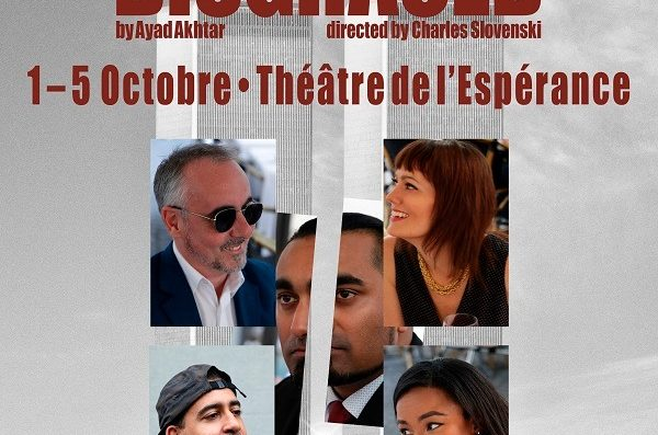 """Disgraced"" – Play in English focussing on cultural identity 1-5th October"