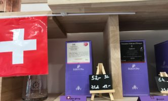 "New to Nyon – ""Suspended"" coffee and Shop that sells Swiss wine in a box"