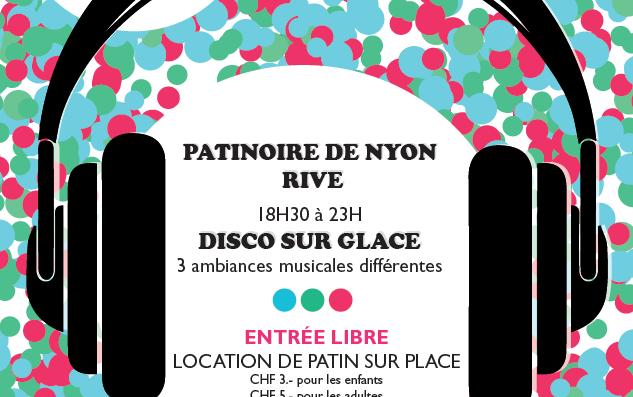 Silent Disco at Nyon Ice Rink – Saturday 23rd November