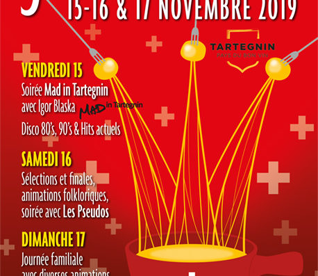Fondue Festival 15-17 November in Tartegnin