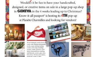 Looking for local creators – Christmas Pop-Up Shop
