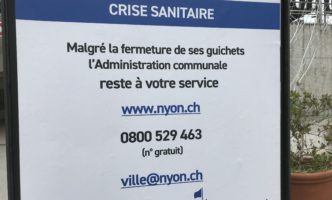Nyon Council Offices Closed but Open for Business Online & via Phone