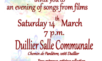 """Sing along at a """"Songs from the Films"""" concert – Sat 14th March"""