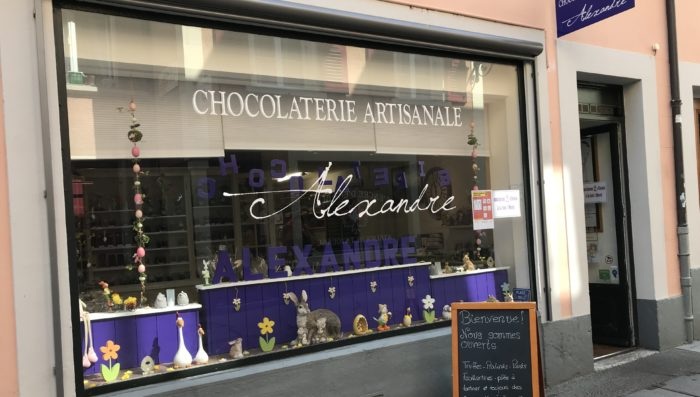 Chocolate maker, Wine producers, Italian Deli and Tea shop – Still open for business in Nyon