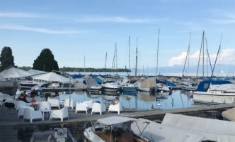 Signs of new life around Nyon – Cinema, Pool, Zoo and Restaurants now open